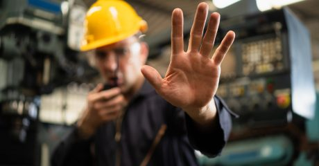 Employee practicing social distancing for manufacturers | Custom Tool, Inc.